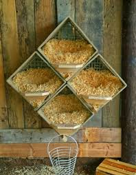 milk crate nesting boxes