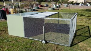 Top Access Mobile Chicken Tractor