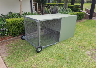 Backyard Chicken Coops - Mobile with Wheels