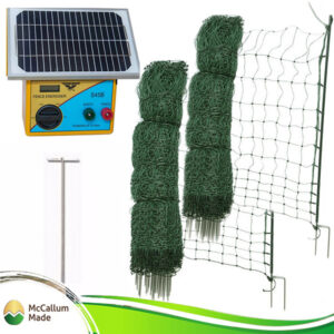 Electric Netting Kit 100 m by McCallum Made