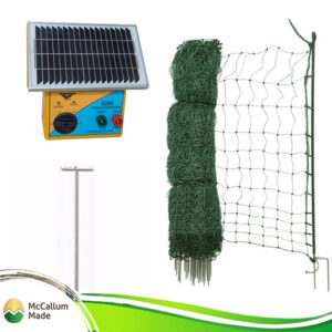 electric poultry net kit 25m s28b energiser TCT