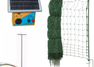 electric poultry net kit 25m s28b energiser TCT