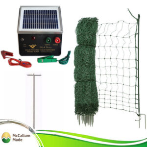 electric poultry net kit 50m blk2s