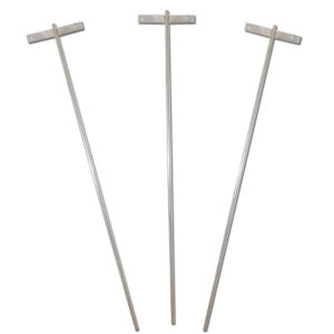 Electric Fence Earth Post – 3 Pack