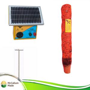 electric goat net kit 50m s28b energiser TCT