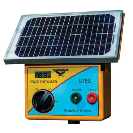 solar energisers for 25-50m electric net