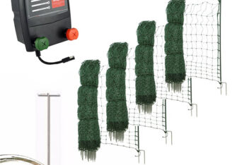 Mains Powered - Poultry Netting Kits